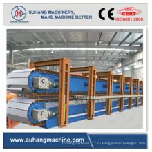 Высокоскоростная 6-метровая прерывистая линия по производству сэндвич-панелей из полиуретана