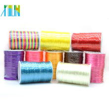 Vente en gros en gros de fil de nylon de Corée de 2mm Satin Rattail en vrac, ZYL0005-5 #