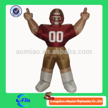 nfl bubba player inflatable football player for sale customized cartoon