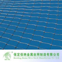 Cerco de malla de zoológico / recinto de animales en malla de alambre de acero inoxidable malla de malla