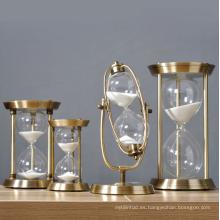 Gran regalo reloj de arena antiguo clásico para la decoración del hogar