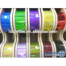 metallized pet film metallic sparkle yarn metallic yarn