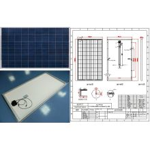 18V 24V 30V 36V 220W 230W 240W 250W Photovoltaic Panel Solar PV Module with Ce FCC Approved