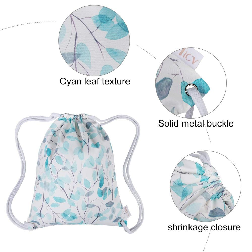 Water Resistant Drawstring Bag 3