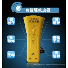 Vermifuger de vague acoustique de dispositif anti-moustique portatif
