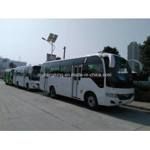 6.6m Double Door Passenger Bus with 26 Seats for Mongolia