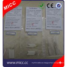 pequeño moq clase A alambre de cerámica herida pt100 rtd sensor
