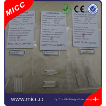 small moq class A ceramic wire wound pt100 rtd sensor