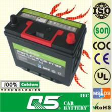 JIS-60B24 12V48AH Les ventes les plus chaudes! Batterie de voiture Mf moins cher pour facile à installer