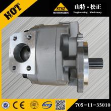 234-60-65100 hydraulic gear pump for grader GD705A-4A