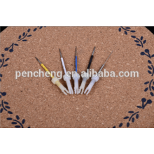 Permanent feature and tattoo machine kit of eyebrow tattoo needle