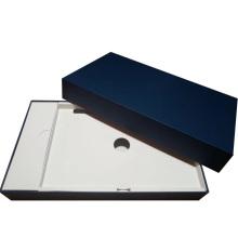 Caja de empaquetado de la tableta tableta rígida con almohadilla de cartón