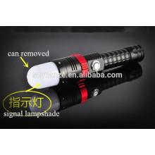 Lumières éclairées magnétiques, lampes de poche et torches, la torche à lampe LED la plus puissante