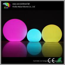Bola impermeable de la piscina de la nadada del LED