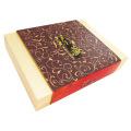 Caja de cartón de papel de encargo de embalaje de regalo plegable
