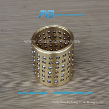 Solid Sliding Bearing Brass Bushing, Press Tool Parts, Guide Ball Bearing Cages 206.71.050.160