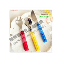 Tableware Set Silicone Kitchen Utensils Spoon Knife Forks With Long Life Ttime