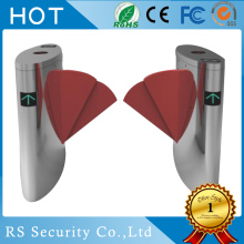 Security Optical Card Read Flap Barrier Turnstile