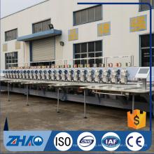 ZHAO 615 + 15 lentejuelas dispositivo de cordaje máquina de bordado computarizado