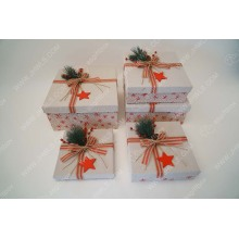 Gift company Christmas tree design communion decoration box