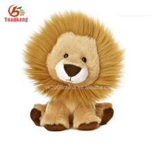 Mini Plush Animal Stuffed Toy Lion Keychain