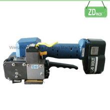 Máquina de embalaje Correa de mano con batería recargable para embalaje de madera (Z323)