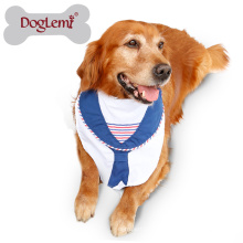 Großhandel XL Hund Haustier Bandana Zubehör Anchor Dog Pet Fliege Schal