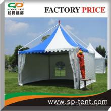 6x6m wasserdichter Aluminiumrahmen Strand Pavillon Baldachin Zelt zum Verkauf