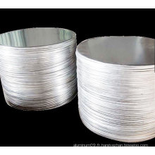 3003 Disque en aluminium pour dessin profond