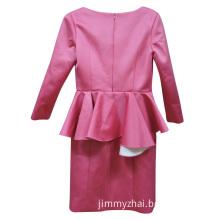 Romantic Sleeveless Red Ladies Dress/Suit
