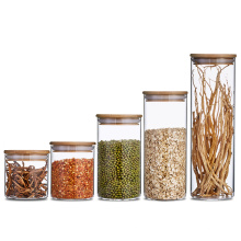 Hot promotion 6 oz glass food jar with sealed cover lid