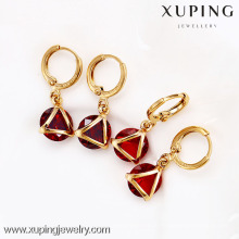 27145-Xuping Top Vente Imitation Drop Conception de boucles d'oreilles