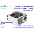 200-350W ATX V2.0 Alimentation PC avec ventilateur de 12cm Alimentation de l'ordinateur