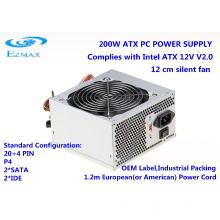200-350W ATX V2.0 PC Netzteil mit 12cm Lüfter Computer Netzteil