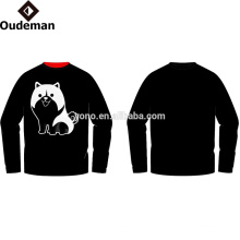 Mode Baumwolle Hoodies & Sweatshirts Benutzerdefinierte Drucken Herren Sweatshirt Männer Hoodies