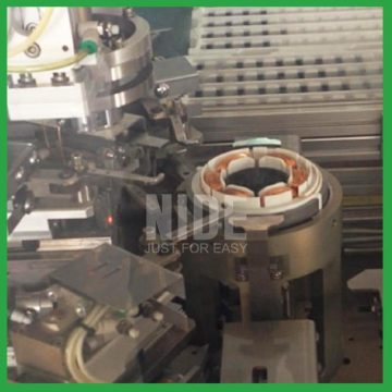 Máquina de enrolamento do estator do servomotor BLDC