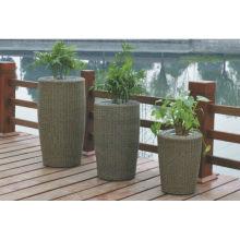 Luxury Patio Easy Cleaning vase en meuble en rotin
