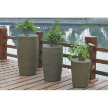 Luxury Patio Easy Cleaning rattan furniture vase