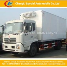 Dongfeng 4X2 99HP Congelador Camião Furgão 4cbm Frigorífico Camião
