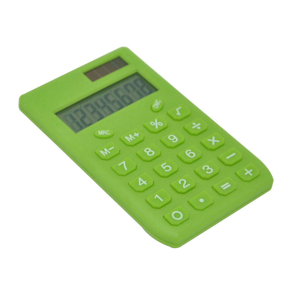 8 Digits Mini Colorful Electronic Pocket Calculator