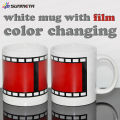 Sublimation color changing coffee mug blank