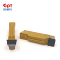PCBN PCD Piston tool single tip PCD grooving inserts for piston