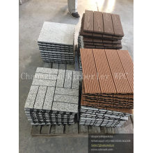 WPC Wood Grain DIY Floor/Laminated Decking Floor