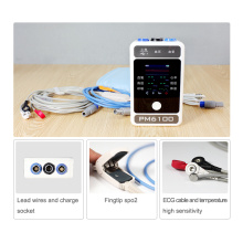 Berry Color Handheld Multi-Parameter Touch Screen Patient Monitor