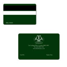 Cartões de banda magnética usados no sistema POS