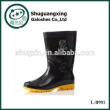 Men Cheap Rubber Fashion Boots Rain boots Men PVC Rain Boots Man's Rain Boots L-B901