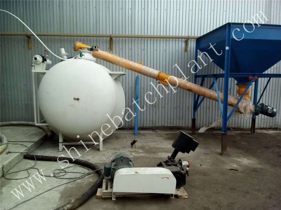 Manual Feeding Cement Hopper
