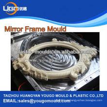 Profesionales de plástico marcos decorativos marcos moldes de plástico máquina de moldeo por inyección precio