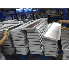 Panneau composite en aluminium carré ondulé