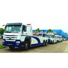 4x2 drive Dongfeng camión de auxilio / Tow truck / road wrecker / vehículo de remolque / camión de rescate / wrecker camión de remolque